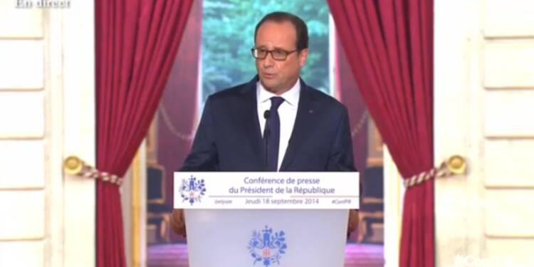 La conférence de presse de François Hollande en direct