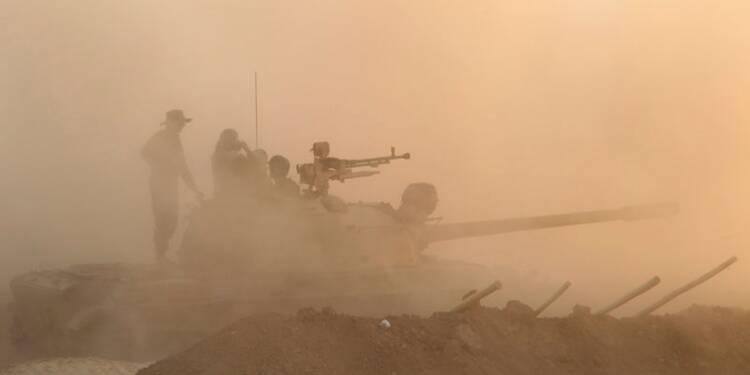 Avancée des peshmerga vers Mossoul avec l'appui de frappes US