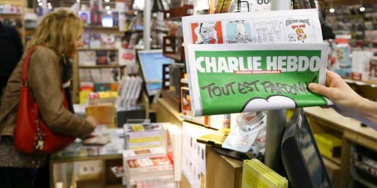Charlie Hebdo va atteindre sept millions d'exemplaires