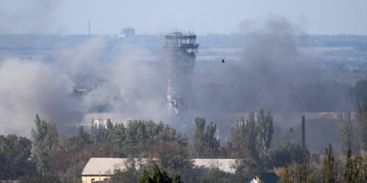 La lutte pour l'aéroport de Donetsk se poursuit en Ukraine