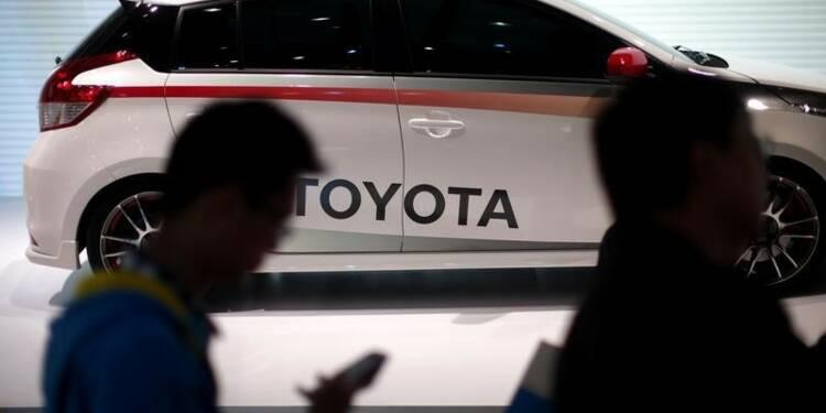 Toyota veut vendre 1,1 million de voitures en Chine en 2015