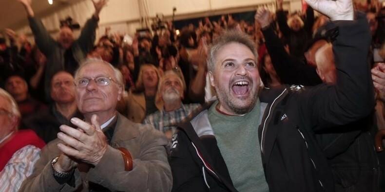 Syriza largement en tête aux élections législatives en Grèce