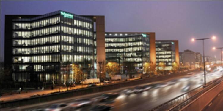 Proche d'une acquisition majeure, Schneider Electric chute en Bourse
