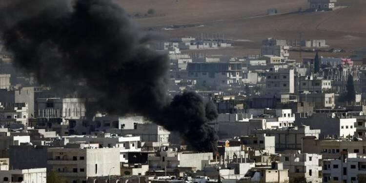 Les frappes sur Kobani semblent plus efficaces, dit l'OSDH