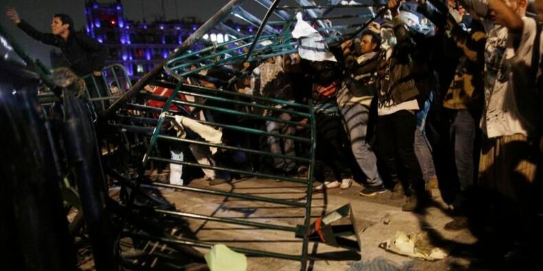 Affrontements entre manifestants et forces de l'ordre au Mexique