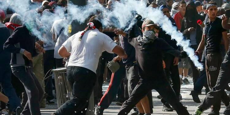 Incidents à la manifestation pour Gaza à Paris