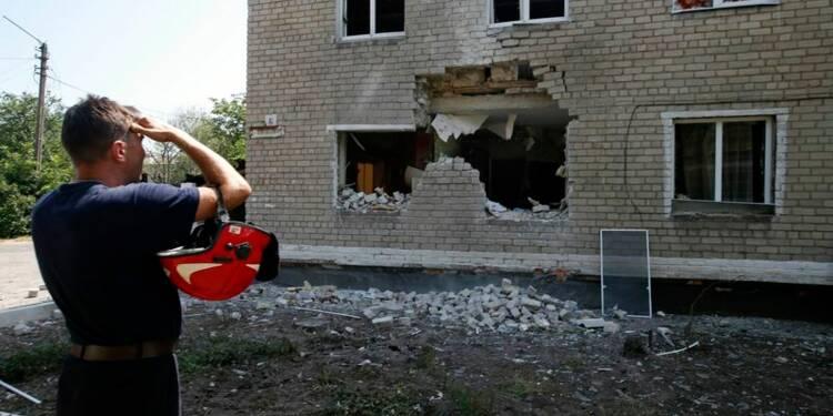 L'aviation ukrainienne bombarde les séparatistes dans l'Est