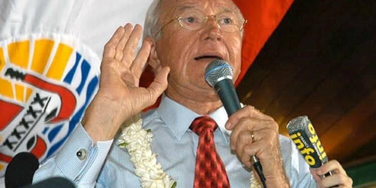 Gaston Flosse démis de tous ses mandats en Polynésie