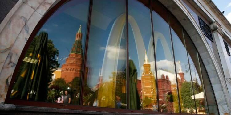 McDonald's ferme temporairement 3 autres restaurants en Russie