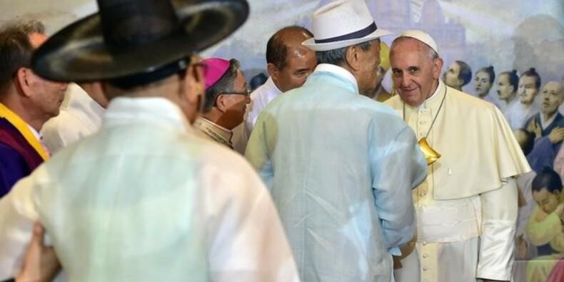 Le pape François appelle les Coréens à se réconcilier