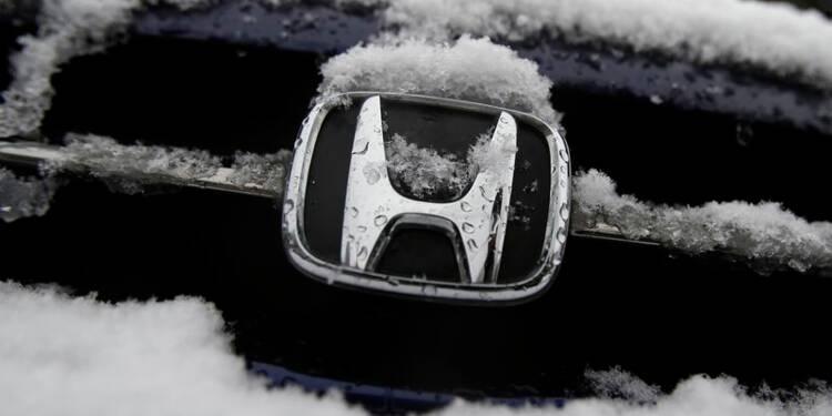 Honda réduit sa prévision de bénéfice à cause des airbags