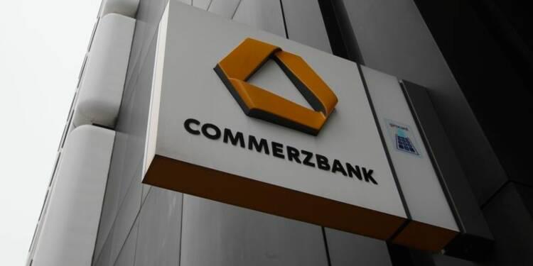 Commerzbank pourrait verser 600 à 800 millions de dollars aux Etats-Unis