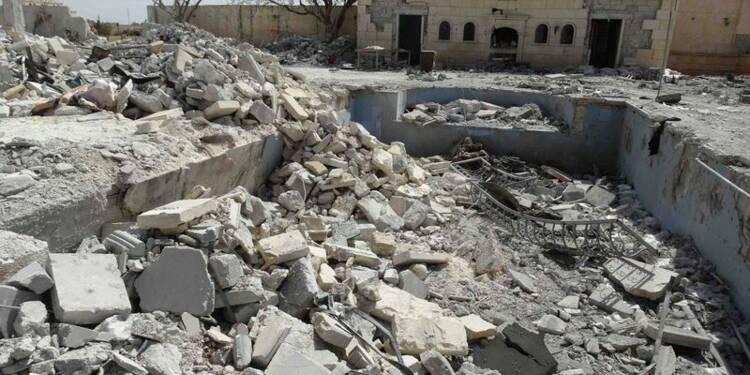 Raids aériens dans l'Est syrien et menaces du Front al Nosra
