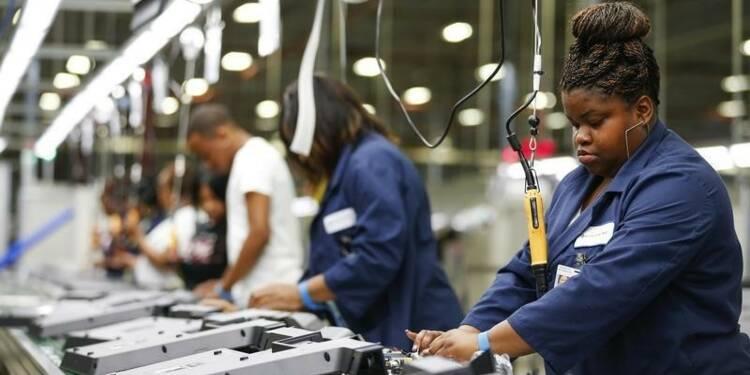 La croissance fléchit dans l'industrie américaine en octobre