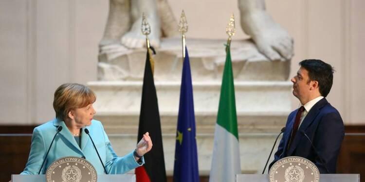Les réformes doivent être poursuivies après la BCE, dit Merkel