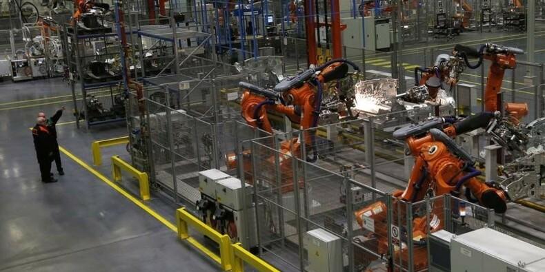 Rebond de la production industrielle britannique en septembre
