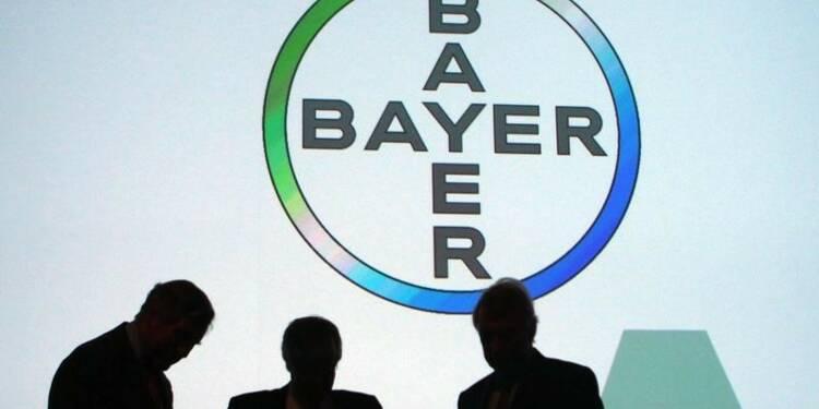 Les résultats de Bayer légèrement inférieurs aux attentes