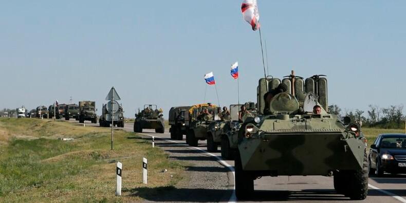 L'Ukraine accuse la Russie d'une incursion militaire