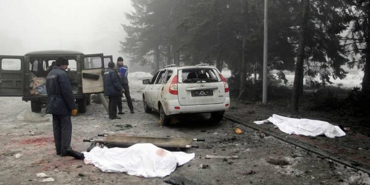 Violents combats en Ukraine, réunion annulée à Minsk