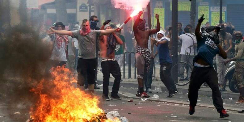 Des milliers de manifestants défilent pour Gaza, heurts à Paris