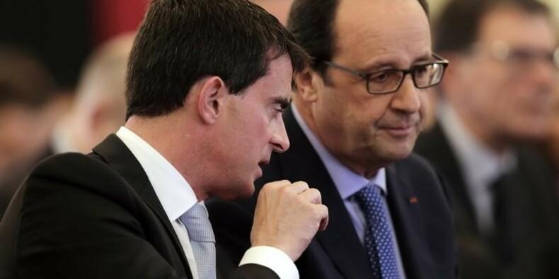 Les Français font plus confiance à Valls qu'à Hollande