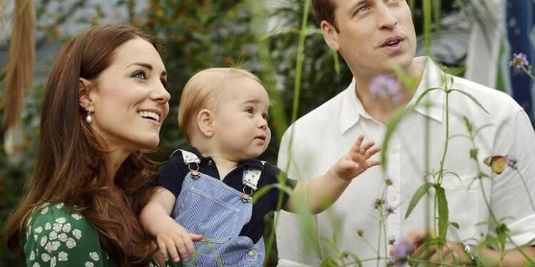 Le deuxième enfant de William et Kate devrait naître en avril