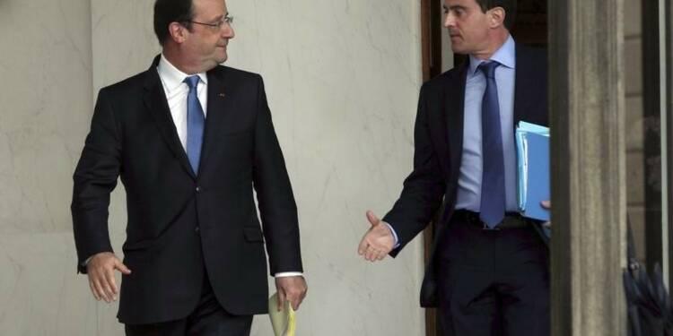 Réunion de travail Hollande-Valls le 15 août à Brégançon