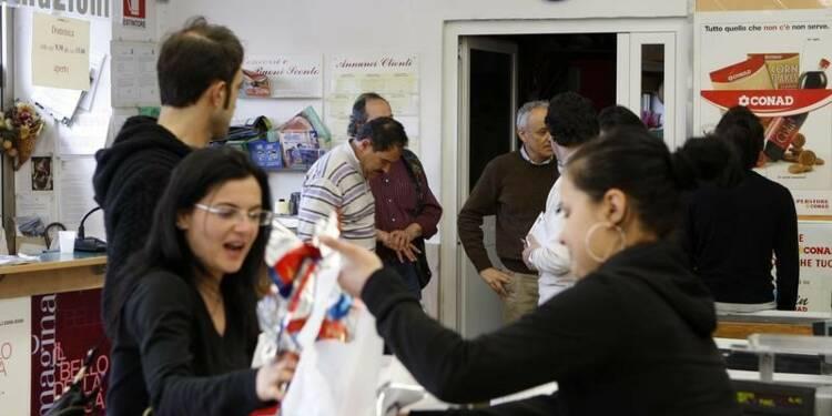 Le moral des consommateurs italiens se détériore fortement en août