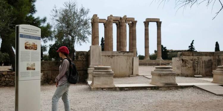 La contraction de l'économie grecque se réduit
