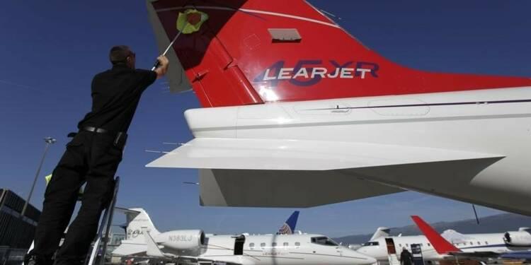 Bombardier suspend le projet Learjet 85 et révise ses prévisions