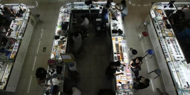 Tassement de la croissance du secteur des services en Chine