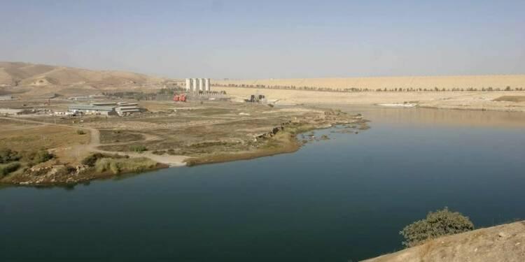 Les combattants kurdes ont repris le barrage de Mossoul