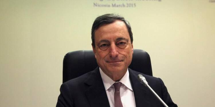 Draghi confirme sa position de fermeté face à la Grèce