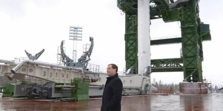 Lancement de la première fusée post-soviétique
