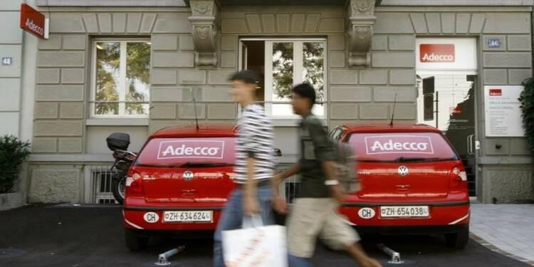 La croissance du CA d'Adecco ralentit au 3e trimestre
