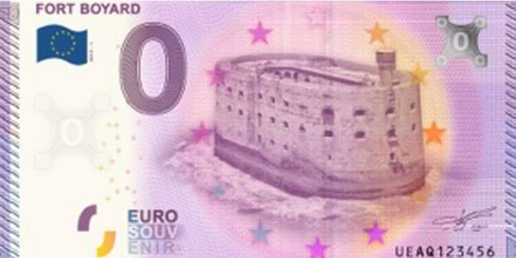Nouveau : voici le billet de 0 euro !