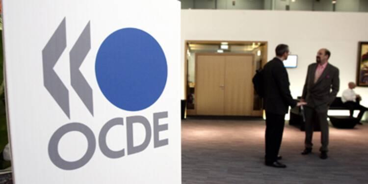 L'économie française devrait chuter de 3,3% en 2009 selon l'OCDE
