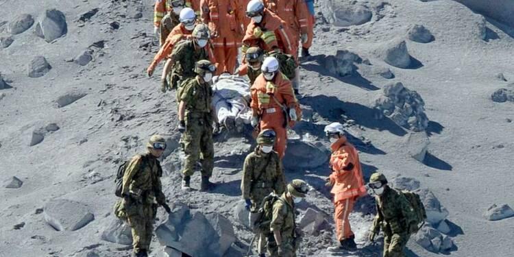 Le bilan s'alourdit sur les pentes du volcan Ontake