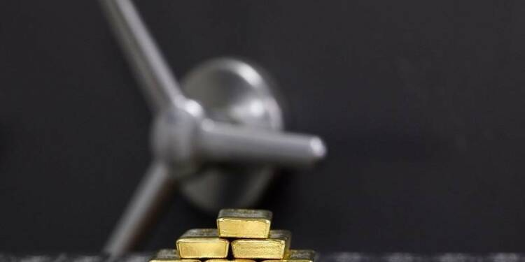 L'once d'or à son plus bas niveau depuis quatre ans