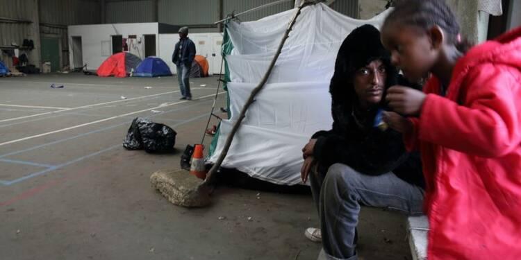 Manifestation contre les migrants à Calais