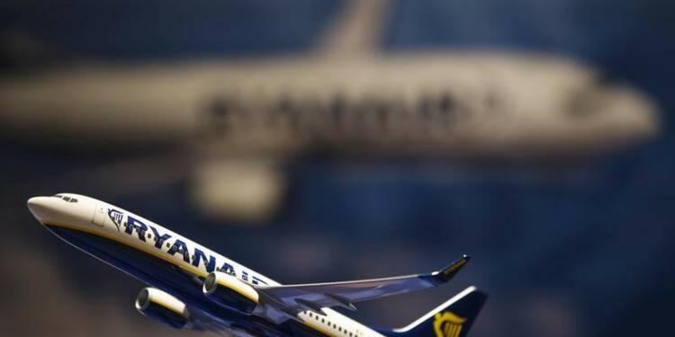 Le bénéfice annuel de Ryanair prévu dans le haut de la fourchette