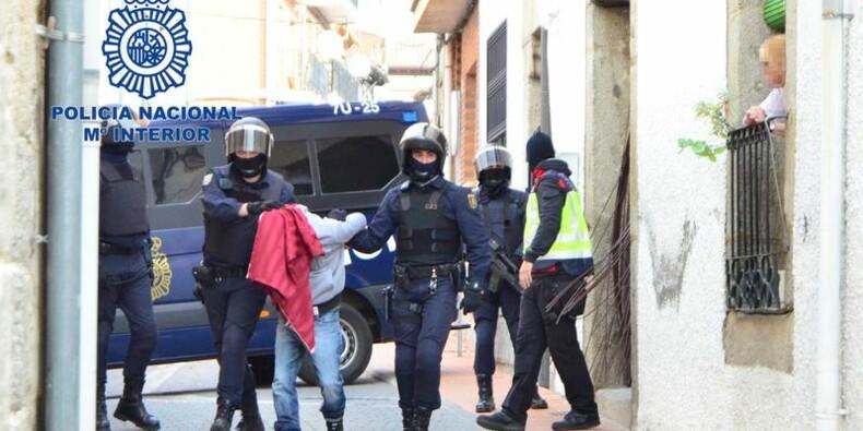 Huit islamistes présumés arrêtés en Espagne