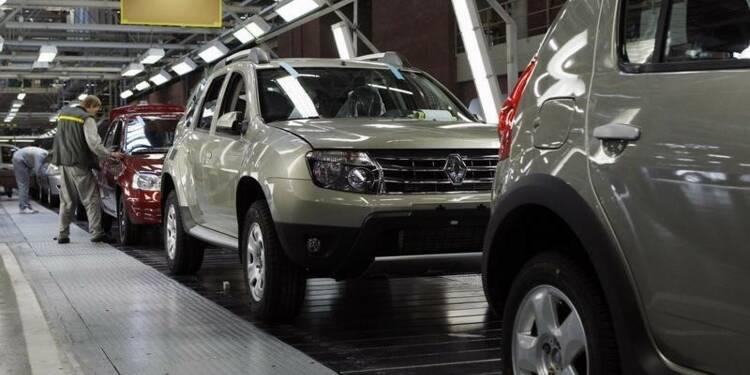 Renault va suspendre provisoirement sa production à Moscou