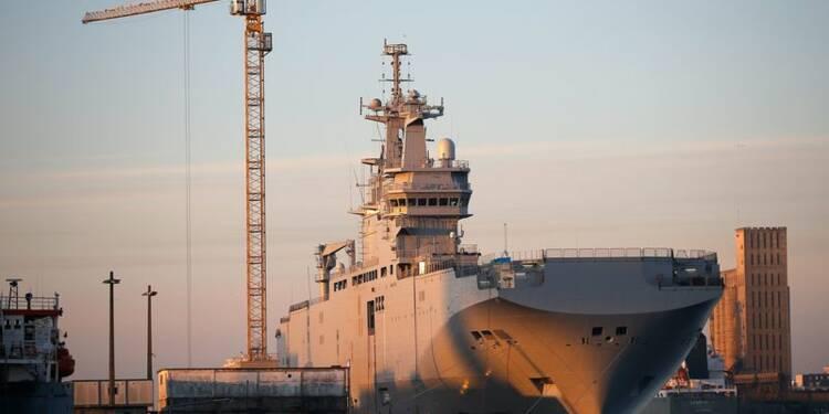 L'incertitude sur les Mistral inquiète Saint-Nazaire