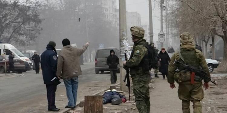 Les rebelles ukrainiens poursuivent leur offensive