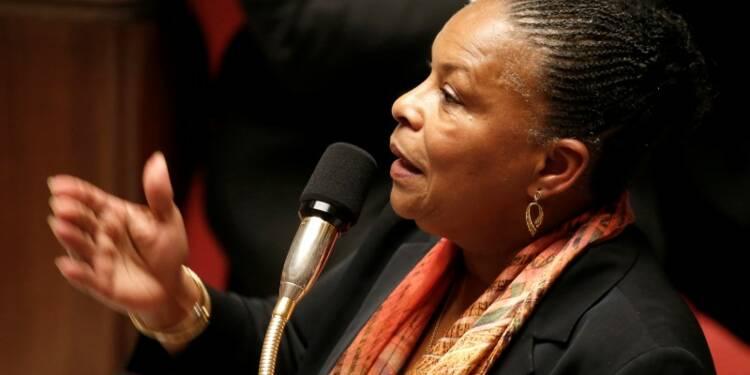 Christiane Taubira réservée sur une peine d'indignité nationale