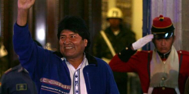 Evo Morales réélu triomphalement à la tête de la Bolivie