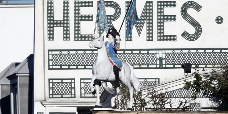 Hermès confirme un repli de sa marge 2014 dû aux changes