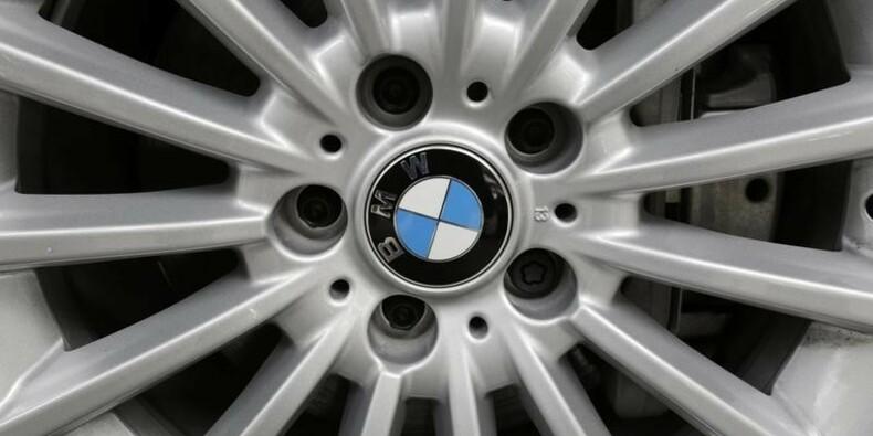 Résultat en hausse pour BMW malgré les citadines