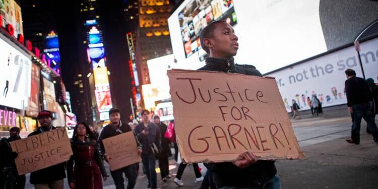 Colère à New York après la disculpation d'un policier